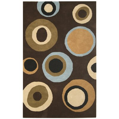 Rizzy Home Volare Brown Bubblerary Rug
