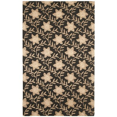 Rizzy Home Country Black/Beige Bubblerary Rug