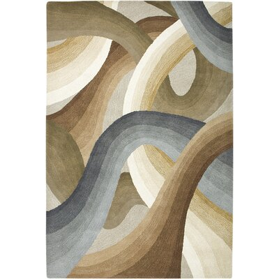Rizzy Home Colours Beige Multi Rug