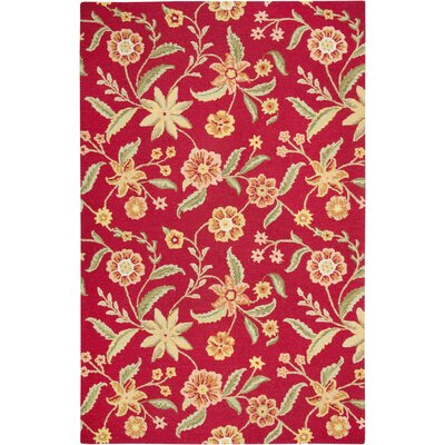 Rizzy Home Country Red Rug