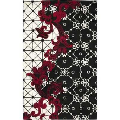 Rizzy Home Fusion Black Rug