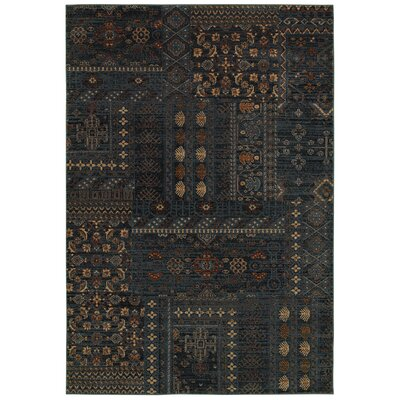 Bellevue Blue Geometric Rug