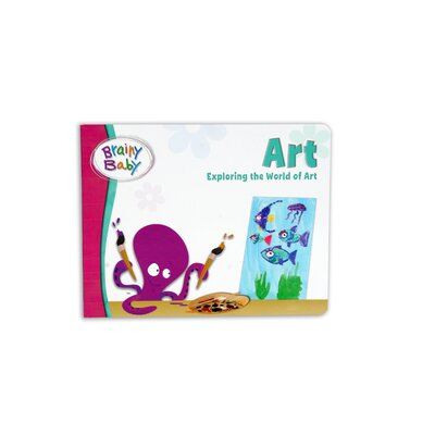 The Brainy Baby Art Board Book