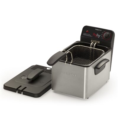 Immersion Element Deep Fryer in Brushed Stainless