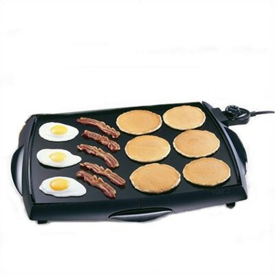 Cool Touch Electric Tilt N' Drain Big Griddle