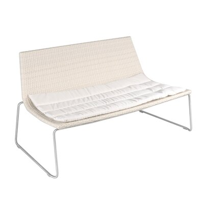 Smith Barnett Dynamic Wicker and Aluminum Garden Bench