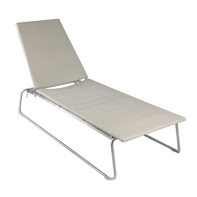 Smith Barnett Dynamic Wicker Chaise Lounge