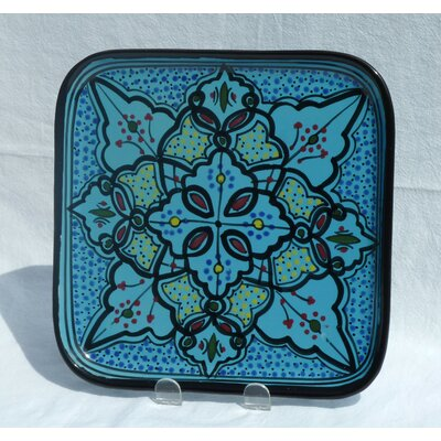 Le Souk Ceramique Sabrine Design Square Plates (Set of 4)