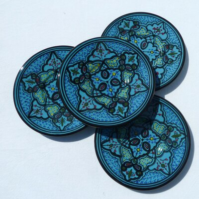Le Souk Ceramique Sabrine Design Saucers (Set of 4)