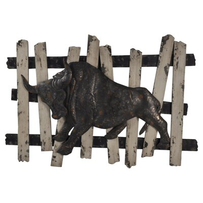 Moe's Home Collection Metal Bull Wall Décor