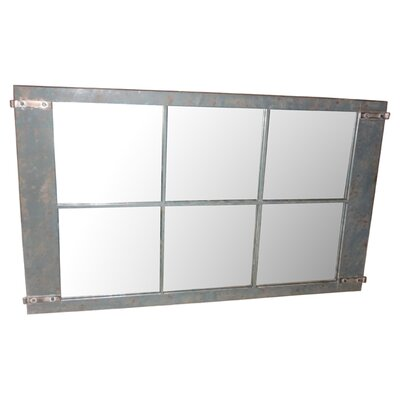 Moe's Home Collection Rustic Metal Mirror
