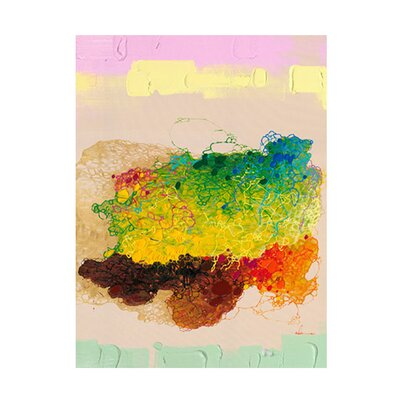 Moe's Home Collection Color Spill I Wall Decor