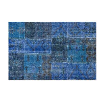 Moe's Home Collection Kochi Blue Rug