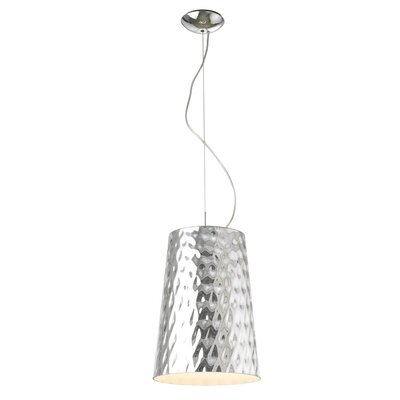 Moe's Home Collection Hammered Metal Distressed Pendant Light