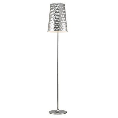 Moe's Home Collection Hammered Metal Floor Lamp