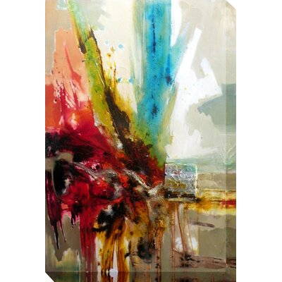 Moe's Home Collection Equinox II Painting Print on Canvas