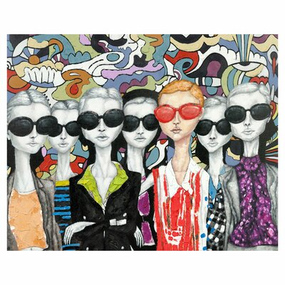 Moe's Home Collection Fashion Painting Print on Canvas