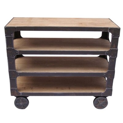 Moe's Home Collection Urbane Shelf in Distressed Natural