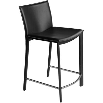 "Moe's Home Collection Panca 26"" Bar Stool with Cushion"