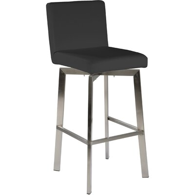 "Giro 26"" Swivel Bar Stool with Cushion"
