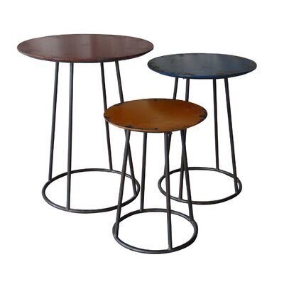 Moe's Home Collection 3 Piece End Table Set