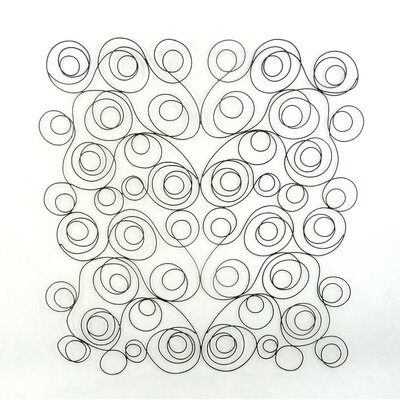 Moe's Home Collection Swirl Metal Wall Decor
