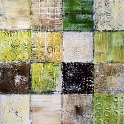 Square Block Wall Decor