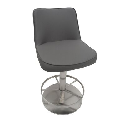 "Moe's Home Collection Cortez 22"" Adjustable Bar Stool with Cushion"
