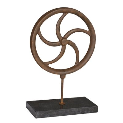 Wheel Figurine