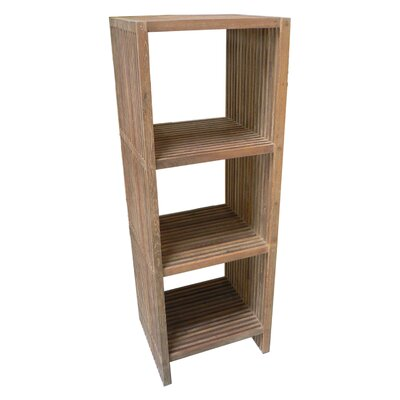 Moe's Home Collection Stripes Teak Shelf