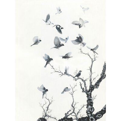 Moe's Home Collection Take Flight II Painting Print on Canvas