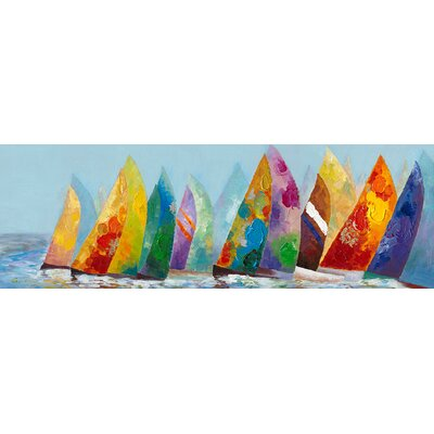 Moe's Home Collection Sail Away Canvas Wall Art