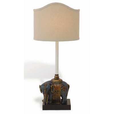 Port 68 Taj Left Facing Elephant Table Lamp