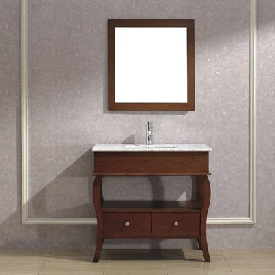 "Bauhaus Bath Winzer 36"" Single Bathroom Vanity Set"