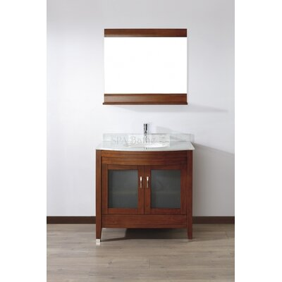 "Bauhaus Bath Alfa 36"" Single Bathroom Vanity Set"