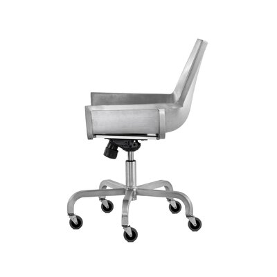 Emeco Sezz Swivel Chair with Casters