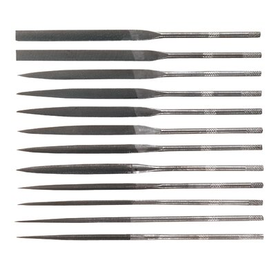 General Tool Company Swiss Needle File Set