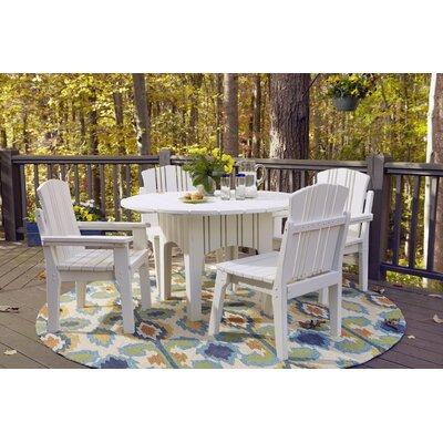 Uwharrie Chair Carolina Preserves 5 Piece Dining Set