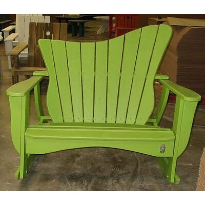 Uwharrie Wave Settee Rocking Chair