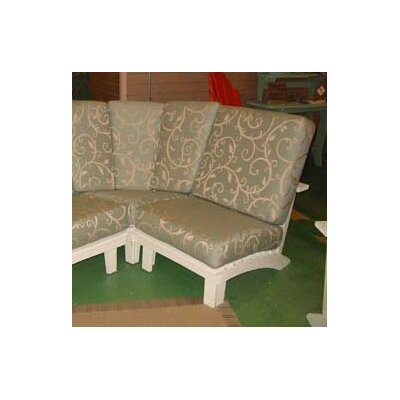 Chat Armless Sectional Piece with Cushions