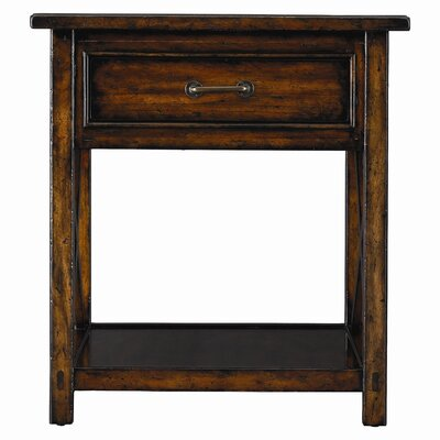 Stanley Furniture Modern Craftsman Williamsburg End Table