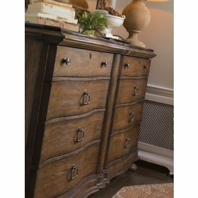 Stanley Furniture European Farmhouse Maisonette 8 Drawer Dresser