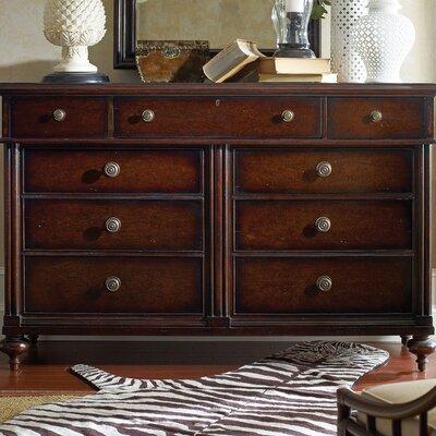 stanley furniture the classic portfolio british colonial 9 drawer