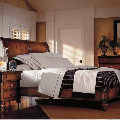 The Classic Portfolio British Colonial Sleigh Bedroom Collection