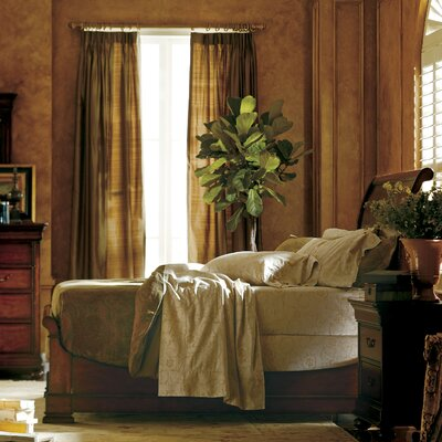 Stanley Furniture The Classic Portfolio Louis Philippe Sleigh Bedroom Collection