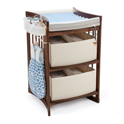 Stokke Sleepi Bassinet and Crib Nursery Set in Walnut with Mattress
