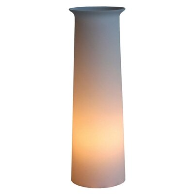 "Offi Flare Tower 20"" H Table Lamp with Drum Shade"