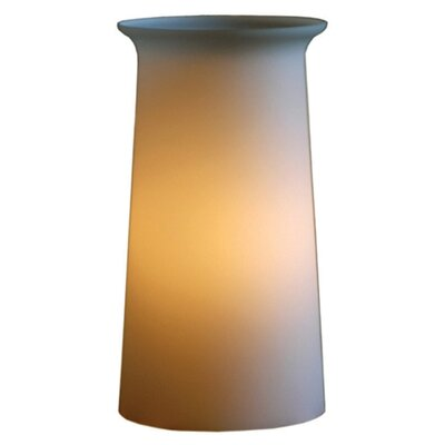 "Offi Flare Tower 12"" H Table Lamp with Drum Shade"