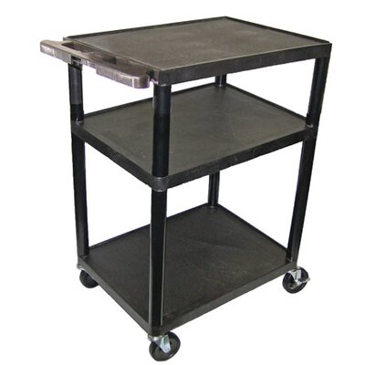 "Luxor 42"" High,  Low Priced Open Shelf Table"