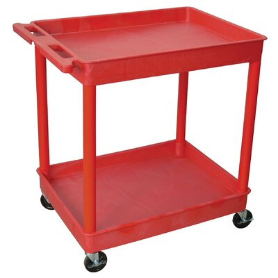 Luxor Two Shelf Tub Cart